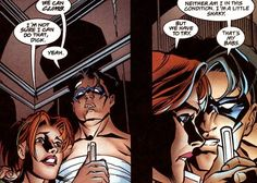 Dick Grayson & Barbara Gordon