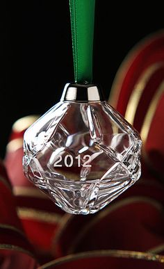 Cashs Celtic Snowflake Ball Ornament, 2nd in Series - Crystal Classics