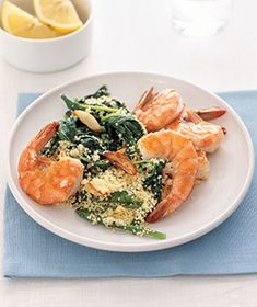 So good & very quick! Perfect for a night when you're starved & not in the mood for a long drawn out meal. Sub w/ rice if you don't like couscous...