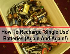 I knew this was kind of possible; as a kid we used to leave dead alkaline batteries out in the sunshine for a few hours, and this seemed to recharge them a little bit, so we could get a bit more use out of them……