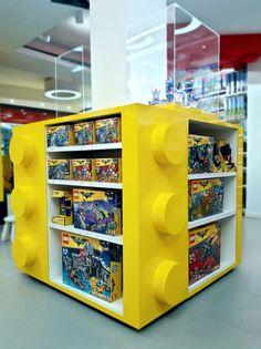 LEGO DISPLAY Lego Display, Magazine Rack, Cabinet, Studio, Storage, Furniture, Design, Home Decor, Clothes Stand