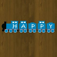 Thomas Train Birthday Banner - Thomas and Friends Printable Birthday Banner (Available in Blue and pink) on Etsy, $10.00