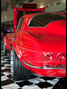 Rare Corvette Split Window Coupe