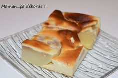 Flan léger aux poires Rustic Cake, Sponge Cake, Tupperware, Food Videos, Dairy, Pudding, Yummy Food, Cheese, Cooking