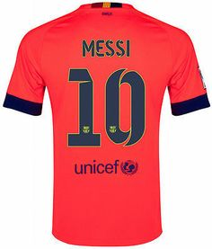 NIKE L. MESSI FC BARCELONA AWAY YOUTH JERSEY 2014/15 FOOTBALL LA LIGA SPAIN BOYS