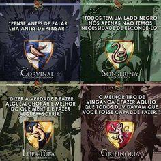 Qual é a sua casa de Hogwarts? Me: Sonserina Mundo Harry Potter, Harry James Potter, Harry Potter Tumblr, Harry Potter Facts, Harry Potter Diy, Harry Potter World, Fanfiction, Nerd, Drarry