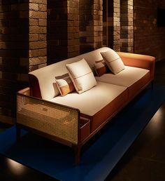 SAMAZING HERMES SOFA   Hermes sofa sellier   bocadolobo.com/ #modernsofa #sofaideas