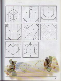 revistas de manualidades gratis Patchwork Quilting, Patchwork Patterns, Quilt Block Patterns, Applique Patterns, Quilt Blocks, Christmas Patchwork, Christmas Quilt Patterns, Paper Piercing Patterns, Yo Yo Quilt