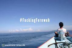Manchmal will man einfach nur weg... #fuckingfernweh #fernweh #reisen #travel #urlaub