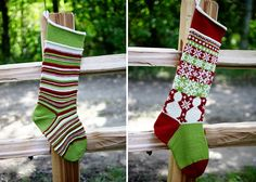 Christmas Stockings pattern by Lindsay Potter.  Recommended yarn is Cascade 220 which can be found at Knit & Pearls in Avon CT