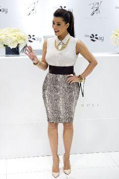 Kim Kardashian in Belle Noel Jewelry Hot Pretty outfit