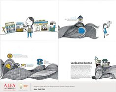 Magnum Cares Brochure Design done by Graphic Design student  #alfacollegeMY #alfacollegeGD