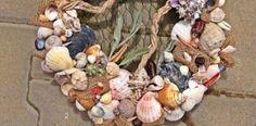 Návod na veniec vyrobený z darov mora