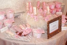 Wedding/Bridal shower favors    www.facebook.com/thecottoncandyconfectionery