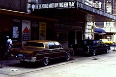 NYC September 1980. Booth Theatre, The Elephant Man with David Bowie opened a few days after I was in New York...damn! I wondered whether he was rehearsing so waited around, but didn't see him.