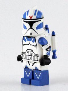 Lego Custom Clones, Lego Clones, Lego Custom Minifigures, Star Wars Minifigures, Star Wars Clone Wars, Lego Star Wars, Custom Lego Clone Troopers, Lego Mandalorian, Lego Soldiers