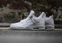1c173be7c5e388 Air Jordan 4 Pure Money Detailed Look