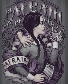 It's been a while since I have shared Wednesday Addams inspired art, but recently saw this stunning piece by… Fanart, Die Addams Family, Addams Family Tattoo, Chesire Cat, Arte Horror, Doll Maker, Gothic Art, Manga Comics, Dark Beauty