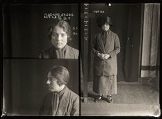 Mugshots from 1920s Australia - Notorious brothel madam Tilly Devine