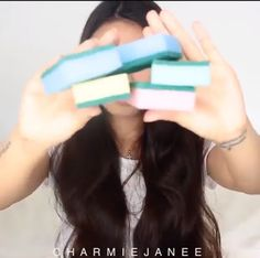 ALL HAIR MAKEOVER: (Video) When you turn your dishwashing sponge to h...