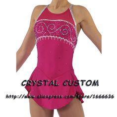2016 Custom Ice Skating Dresses For Women Graceful New Brand Figure Skating Dress For Competition DR2760
