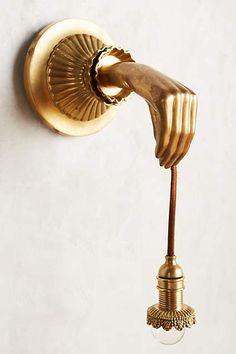 Furniture  Style and Gothic on Pinterest Pinterest Lightbearer Sconce   anthropologie com