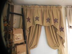 Custom Made Curtains, Country Curtains, How To Make Curtains, Decor Crafts, Home Decor, Valance Curtains, Decoration Home, How To Sew Curtains, Room Decor