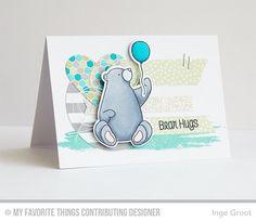 MFT, My Favorite Things Stamps, Birdie Brown, BB BIrthday Bears, Jumbo Abstract Art
