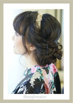 Trang Do provides professional hair and makeup that will cater to any of your requests. Based in Orange County, we take great pride in delivering outstanding customer service that is personal, professional and caring. Wedding Hair Tips, Beach Wedding Hair, Classic Hairstyles, Braided Hairstyles For Wedding, Bride Hairstyles, Hairstyles Haircuts, Professional Hairstyles For Men, Hairstyles With Glasses, Bridal Hair Updo