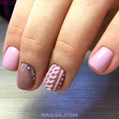 Cute and Simple Nail Art for School / My Chic And Wonderful Gel Nail Idea Long Nail Designs, Simple Nail Art Designs, Best Nail Art Designs, Nail Designs Spring, Easy Nail Art, Cute Nails, My Nails, Gel Nail, Acrylic Nails