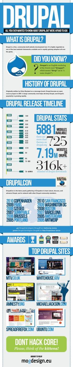 What is Drupal? All You Need To Know in One Great Infographic.