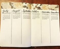 49 mentions J'aime, 3 commentaires – BujowithMelo (@bujowithmelo) sur Instagram : « My future log for my 2018 bullet journal!I'm quite happy with that look! #bulletjournal #futurelog… »