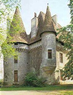 Château de Puyferrat. Dordogne 24