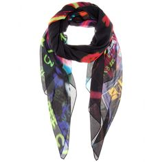 mytheresa.com - Printed scarf - Scarves - Accessories - McQ Alexander McQueen - Luxury Fashion for Women / Designer clothing, shoes, bags