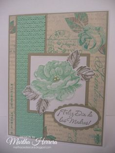 PP194 Vintage Card by marthacreates - Cards and Paper Crafts at Splitcoaststampers
