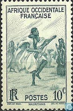 1947 French West Africa - Rifles Dance