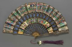 Chinese Export Fan    1820-1825    The Museum of Fine Arts, Boston