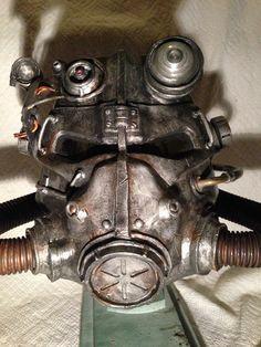 Fallout 3 T-45d Helmet #gaming #video_game #prop #cosplay #halloween #Brotherhood_of_steel