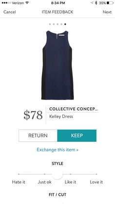 A dress for work and for winter parties #affiliate #stitchfix