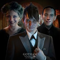 Announced at New York Comic-Con, Paul Reubens will guest star as Penguin's (Robin Lord Taylor) father!