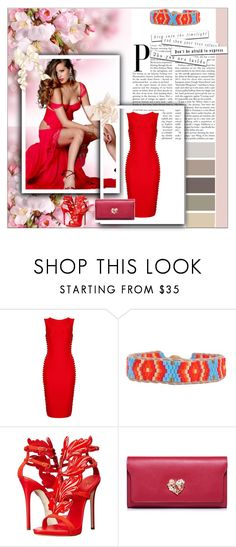 """""""My style"""" by deyanafashion ❤ liked on Polyvore featuring Cocobelle and Giuseppe Zanotti"""