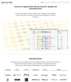 Accurat — Information is Beautiful Awards
