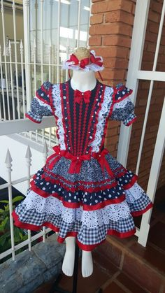 Vestido caipira atelie Bia