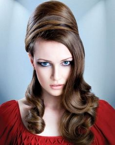 Retro Half Updo Hair Style 2014-pin it from carden