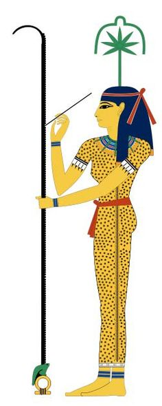 Cannabis in ancient Egypt.