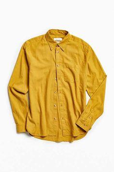 UO Cross-Dyed Stevens Button-Down Shirt