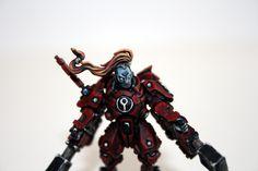 #CommanderShadowsun #Warhammer40k #GamesWorkshop #Tau #miniaturepainting by #Misiek #Sagidima