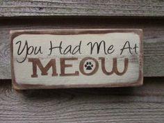 cat sign cat lovers. cat pet lovers funny by mockingbirdprimitive, $14.95