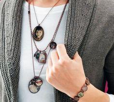 Photo Jewelry Necklace. http://hative.com/creative-diy-photo-craft-ideas/