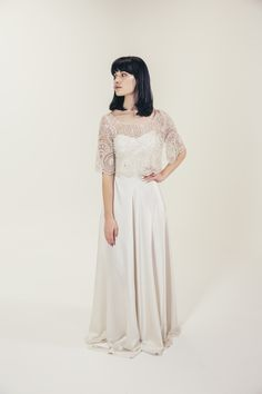 RTW Collection || E&W Couture || Pheobe Crop || Seperates || Bridal Seperates || Alternative wedding dress